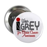 "I Wear Grey For BC Awareness 32 2.25"" Button (10 p"