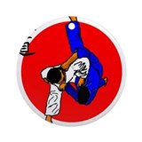 Judo Glory Ornament (Round)