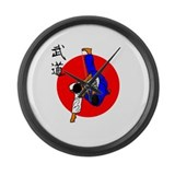 Judo Glory Large Wall Clock