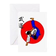 Judo Glory Greeting Cards (Pk of 20)