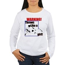 Throws Like a Girl T-Shirt
