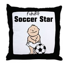 Future Soccer Star Nursery Pillow