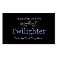 Twilighter Rectangle Decal