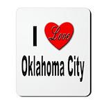 I Love Oklahoma City Mousepad