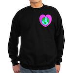 Love Our Planet Sweatshirt (dark)