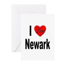 I Love Newark Greeting Cards (Pk of 20)