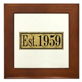 1959 Framed Tile