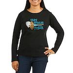 Stay Regular Women's Long Sleeve Dark T-Shirt