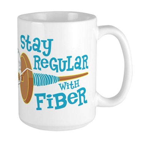 Stay Regular Large Mug
