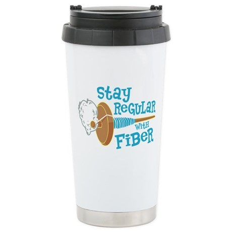 Stay Regular Ceramic Travel Mug