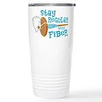 Stay Regular Ceramic Travel Mug
