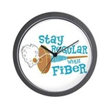 Stay Regular Wall Clock