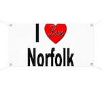 I Love Norfolk Banner