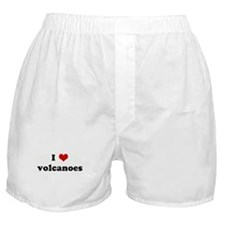I Love volcanoes Boxer Shorts