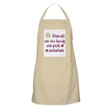 Friends Are Family BBQ Apron