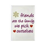 Friends Are Family Rectangle Magnet