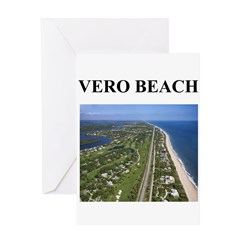 vero beach gifts and t-shirts Greeting Card