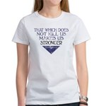 Nietzsche Quote Distressed Women's T-Shirt