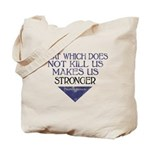 Nietzsche Quote Distressed Tote Bag