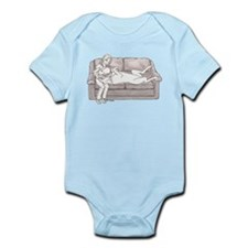 N Couch Baby Infant Bodysuit