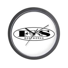 F&S Boatworks Wall Clock