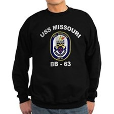 USS Missouri BB 63 Sweatshirt