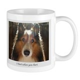 I hurt when you hurt Small Mug