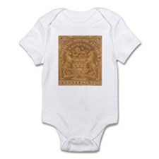 Rhodesia arms 20 Pounds Infant Bodysuit