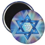 Radiant Magen David Magnet