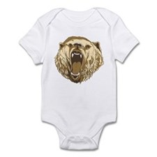 Bear Roaring Infant Bodysuit