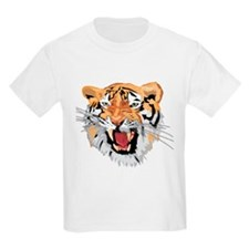 Facial shot of Tiger T-Shirt
