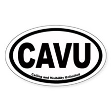 CAVU Euro Oval Decal