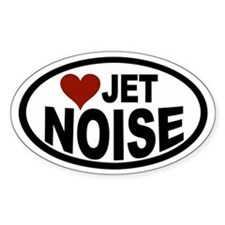 Jet Noise Euro Oval Decal