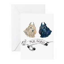 Bouvier des Flandres Greeting Cards (Pk of 10)