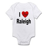 I Love Raleigh Onesie