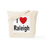 I Love Raleigh Tote Bag
