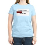 WINE LOADING... Women's Light T-Shirt