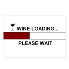 WINE LOADING... Postcards (Package of 8)