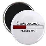 WINE LOADING... Magnet