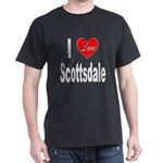 I Love Scottsdale (Front) Dark T-Shirt