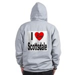 I Love Scottsdale (Back) Zip Hoodie