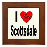 I Love Scottsdale Framed Tile