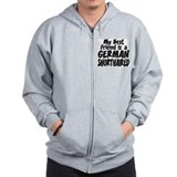 German Shorthair FRIEND Zip Hoodie