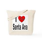 I Love Santa Ana Tote Bag