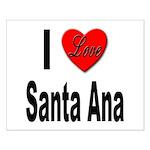 I Love Santa Ana Small Poster