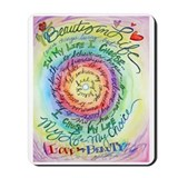 Beauty in Life (Cancer) Mousepad
