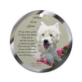 Westie Art Gifts Ornament (Round)