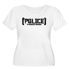 Police Proud Mom T-Shirt