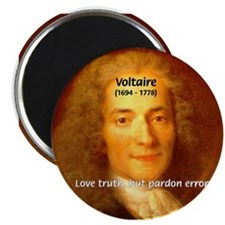 French Philosopher: Voltaire Magnet