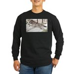 Outcome Long Sleeve Dark T-Shirt